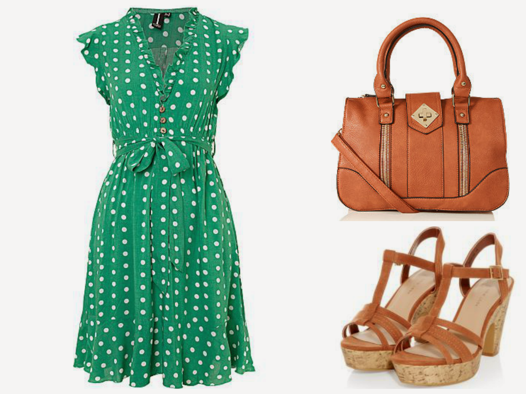 Green Day Chic Outfit