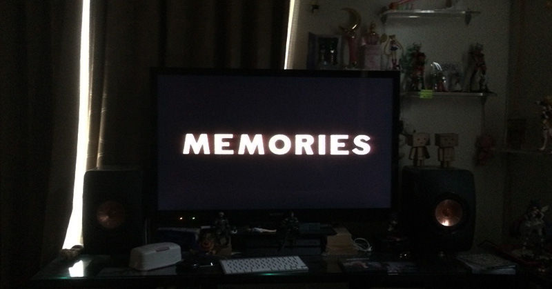 またまたオムニバスアニメ「MEMORIES」を見てしまった