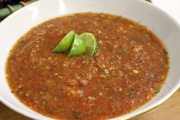 Roasted Yellow Tomato Salsa Recipe With Cilantro Recipes — Dishmaps