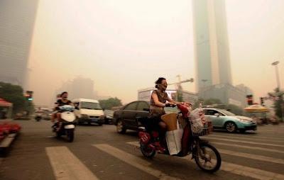 nubes y niebla extraña en china junio 2012