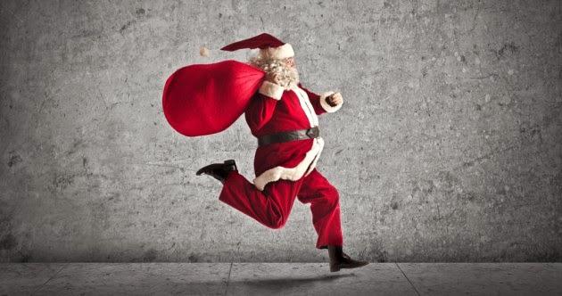 Promoţii de sărbători. 12 zile de Crăciun pe 360SPORT. Moş Crăciun în alergare