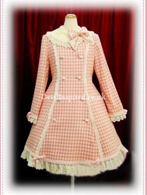 Autumn Winter Sweet Bow Lolita Wool Coat