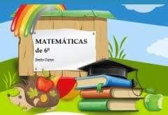 MATEMÁTICAS DE SEXTO
