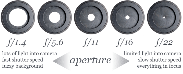 how the aperture works