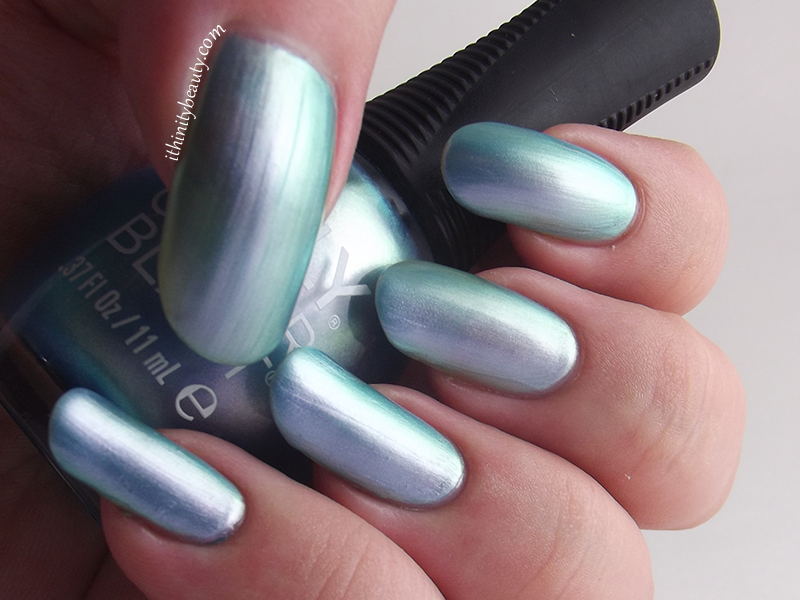 Orly Sky Blue Color Flip Swatch Review 5 Ithinitybeauty