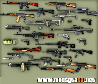 SA - Pack de Armas do Resident Evil 4