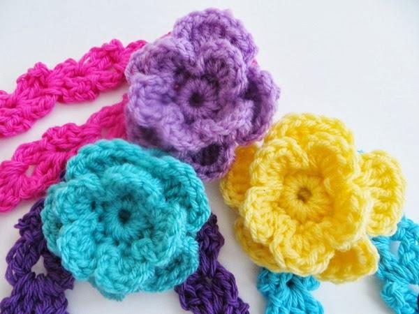 Free Crochet Flower Patterns Australia Pakbit For