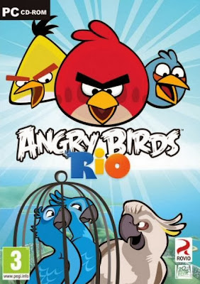 Angry Bird Rio PC Cover