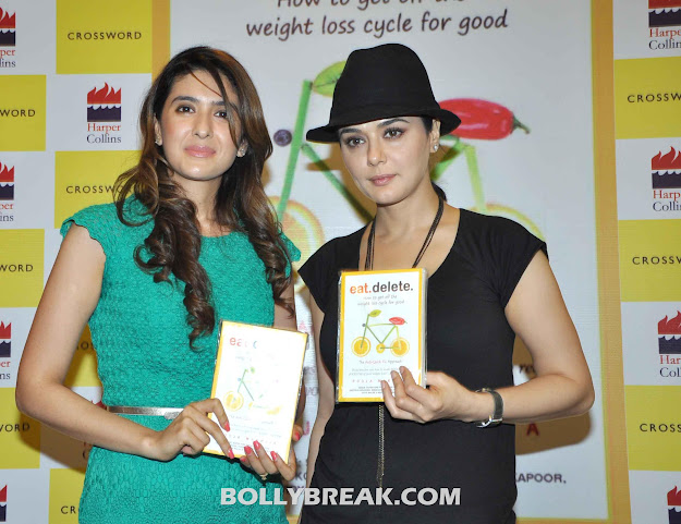 Preity Zinta Launches Pooja Makhija's Book