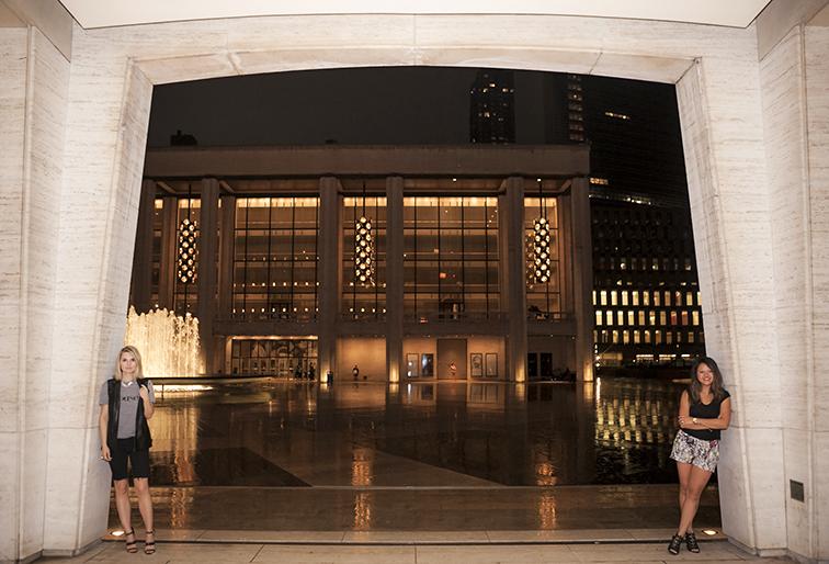 Lincoln Center Plaza, fountain, New York City, Fashion Over Reason X MIMO Market, personal style, fashion blogger, style blogger
