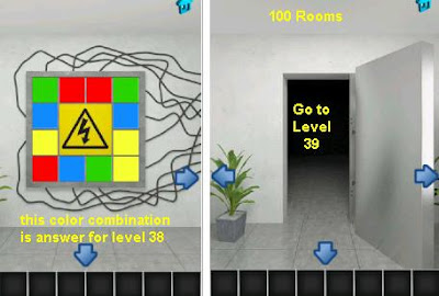 100 rooms level 39