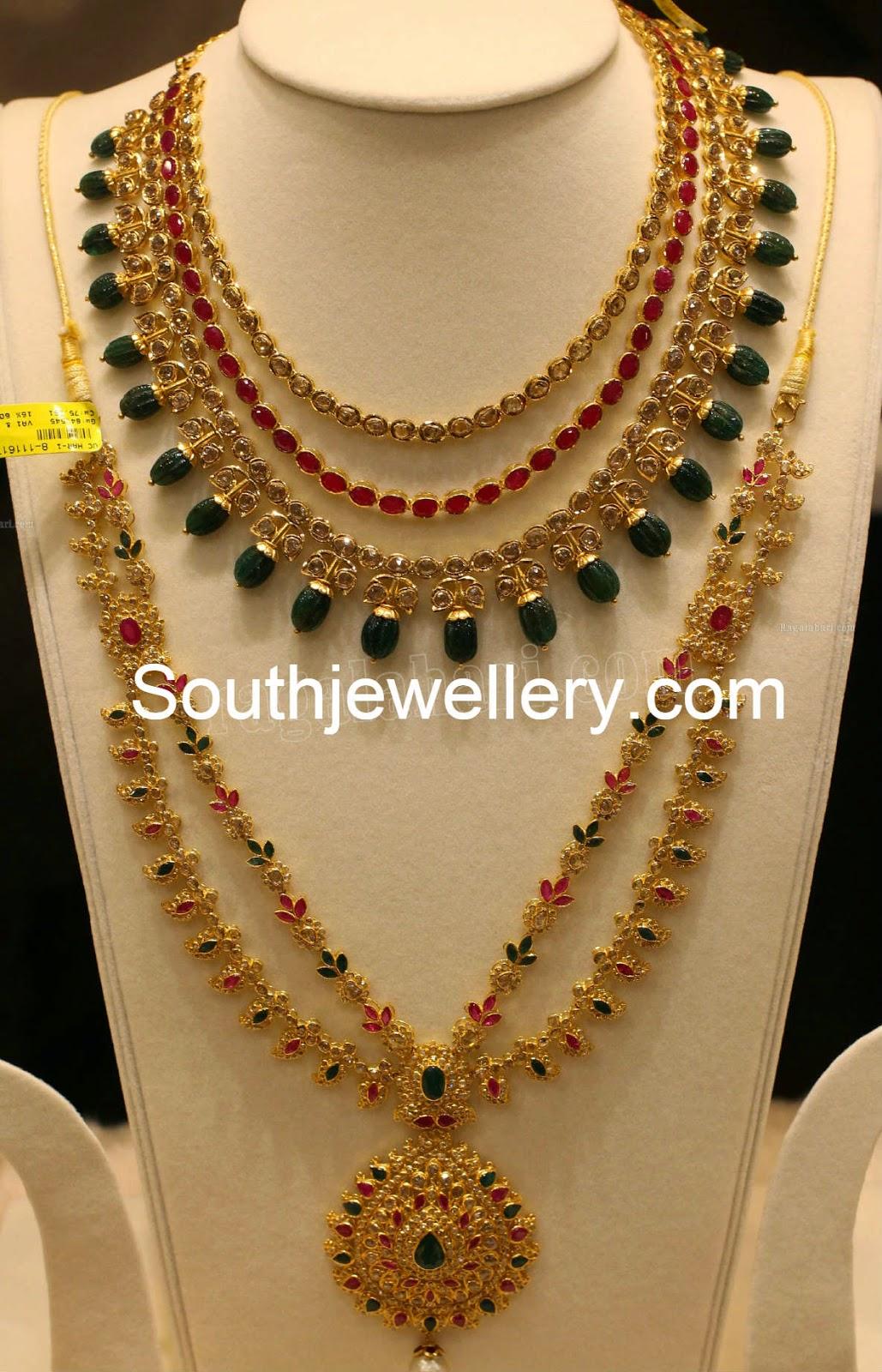 uncut pacchi necklace models