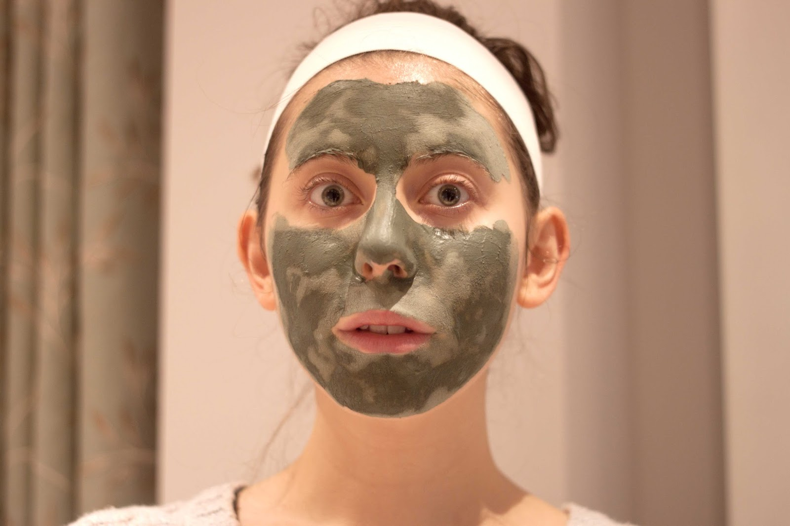 BEAUTY : MIMI HALLOWEEN GREEN GODDESS FACE MASK