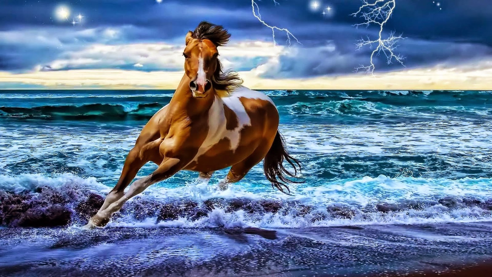 island mountain horse wallpaper - photo #24