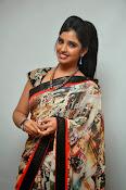 Syamala glamorous photos in saree-thumbnail-9