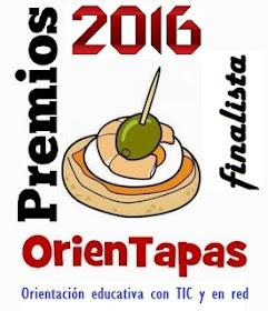 FINALISTA DE LOS PREMIOS ORIENTAPAS 2016