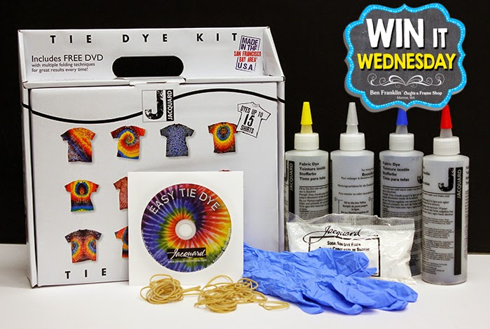 Win this Tie Dye Kit with DVD!