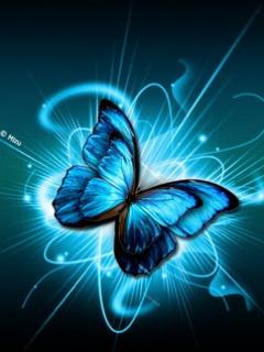 imagens Para Celular borboleta azul