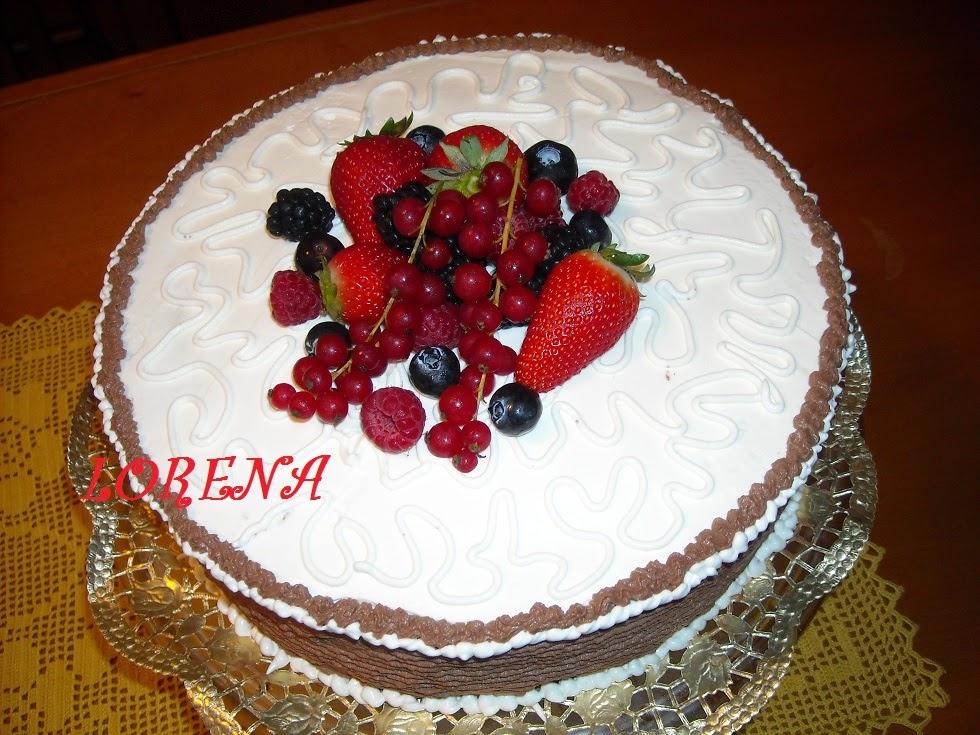Le torte di lorena e non solo torta di for Decorazioni torte 40 anni uomo