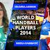 Amorim (BRA) Karabatic, mejores jugadores del 2014 para la IHF