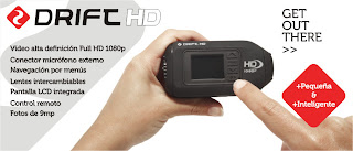 Drift HD pequeña e inteligente