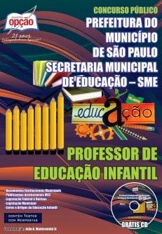Apostila Concurso SME São Paulo para Professor de Educação Infantil