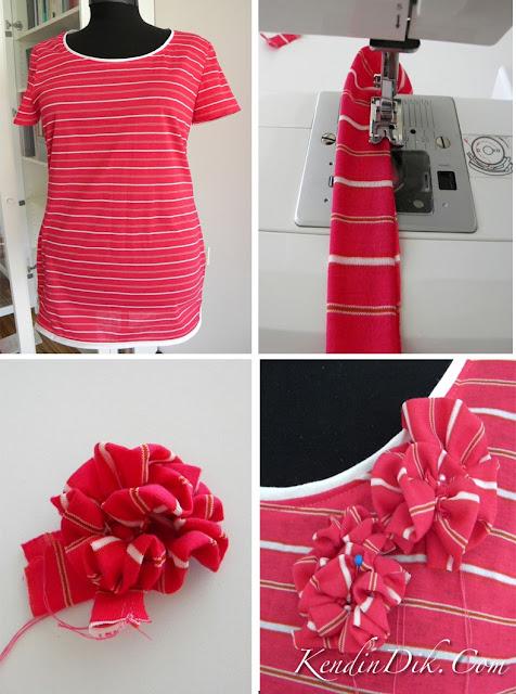 tişörtleri çeşitlendirme DIY fikirleri