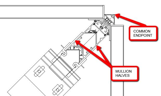 CurtainwallBIM: Mullion Halves