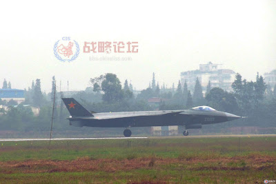 J-20 Stealth Fighter 2nd Prototype 2002 With AESA Radar