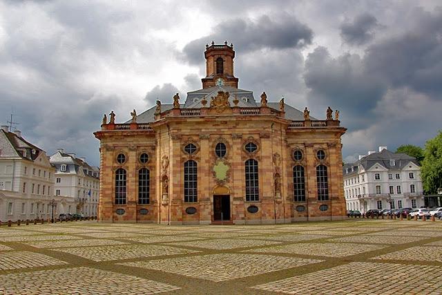 Ludwigskirche Saarbrücken - Barock - Stengel - Wahrzeichen