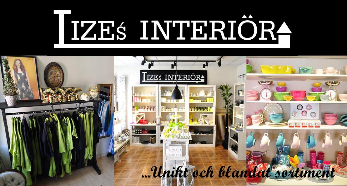 Lizes interiör - unikt och blandat sortiment