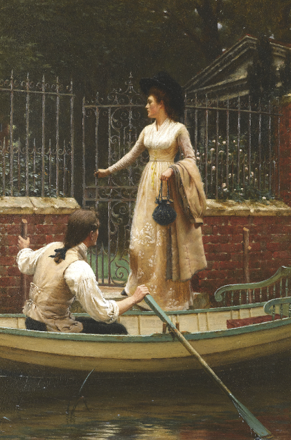 elopement, Edmund Blair Leighton,genre painting