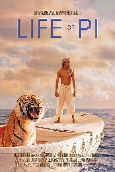life of pi, lee ang, 3d