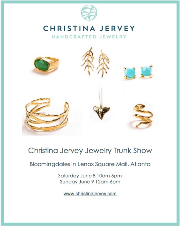 Christina Jervey Jewelry Trunk Show at Bloomingdales Lenox Mall on