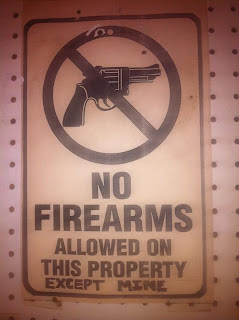 no firearms funny quote