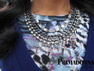 Spike Necklace Statement Necklace