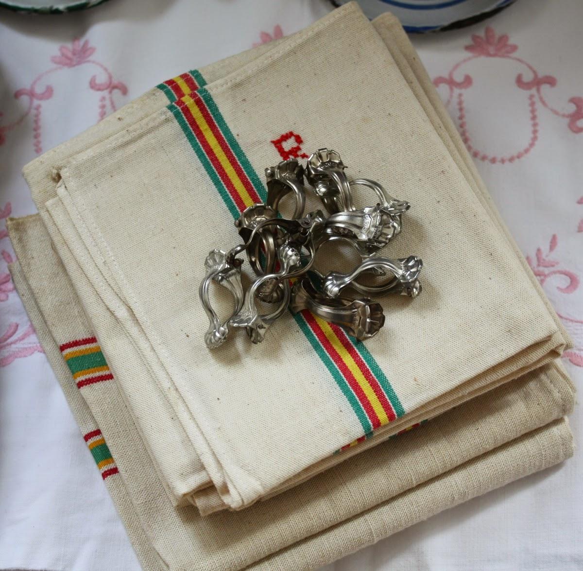 vintage drape clips