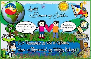 Isang Pagpupugay sa Wikang Filipino Agosto, Buwan ng Wika