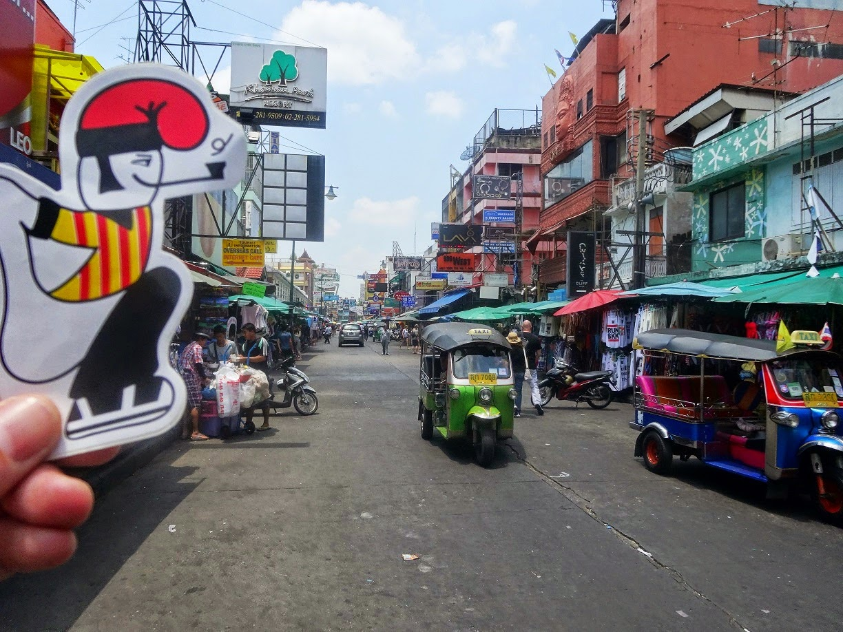 Khaosan Road and catganer