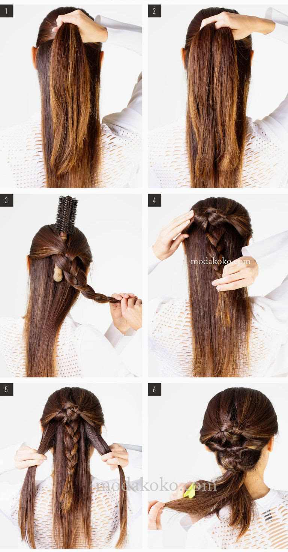 2015 Farklı Örgü Saç Modeli