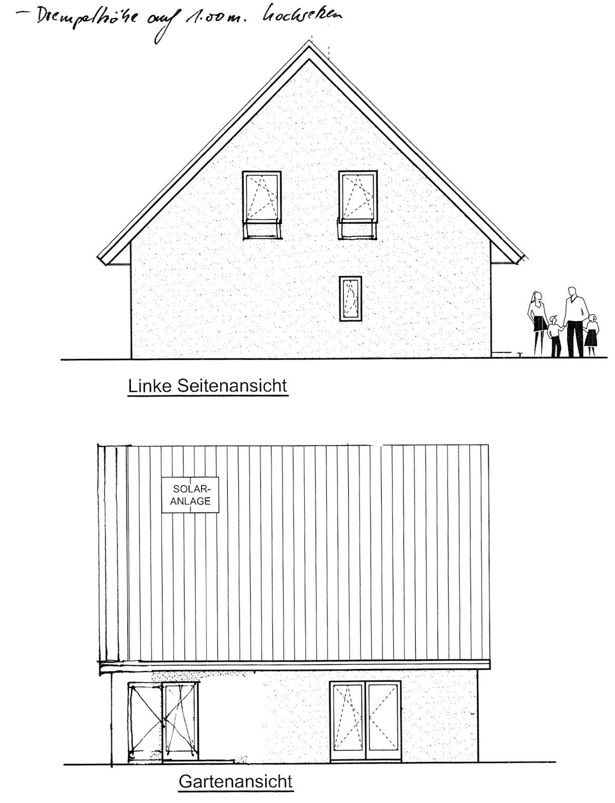 Bautagebuch hassenroth ortstermin grundst ck hausplanung for Hausplanung grundriss