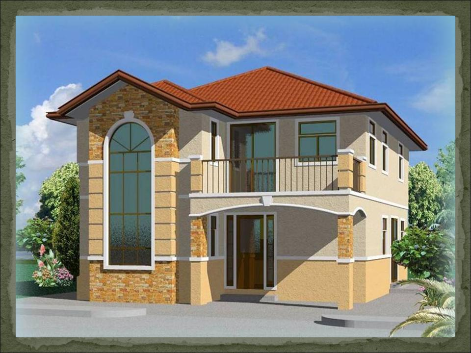 Stylish home design ideas balcony designs for Cheapest 2 story house to build