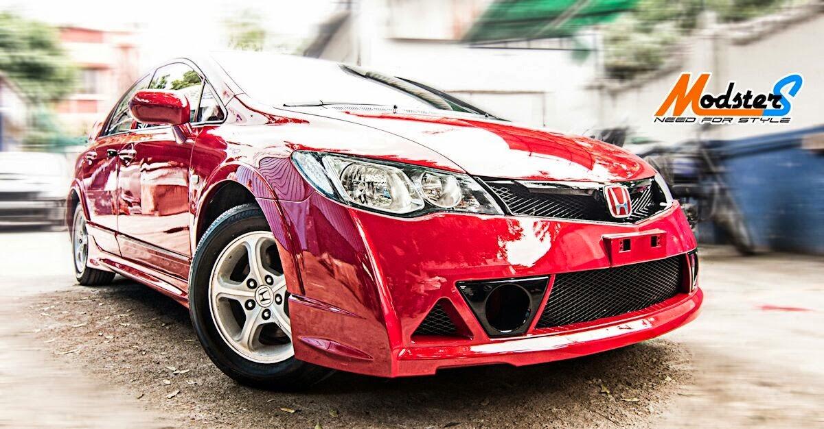 Honda Civic SI + Bodykit Mugen - YouTube