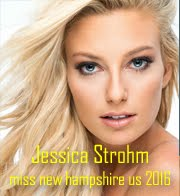 Jessica Strohm - Miss New Hampshire USA 2016