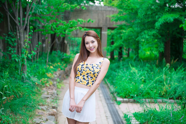 1 Lovely Ju Da Ha In Outdoor Photo Shoot - very cute asian girl-girlcute4u.blogspot.com