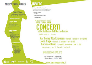 Contemporary classical music concerts in Florence