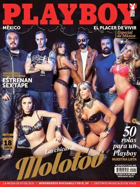 Playboy México Marzo 2015 Las Chicas de Molotov PDF