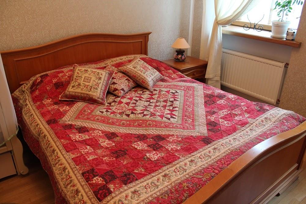стеганное одеяло, пэчворк