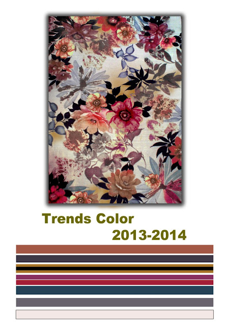 2013-2014 trends color combinations into the design