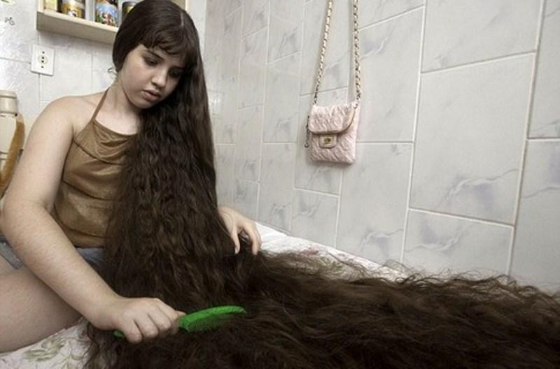 Как сделать густые волосы у девочки